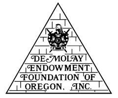 DeMolay Endowment Foundation of Oregon, Inc.